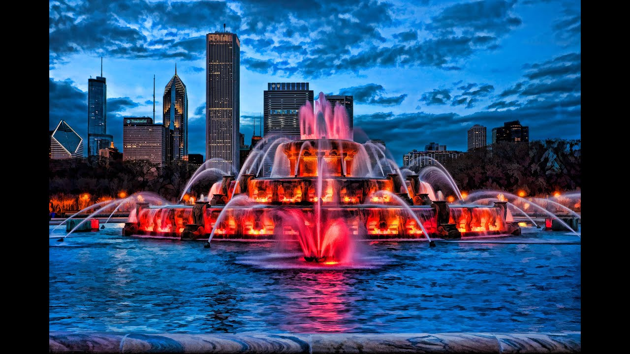 Most Beautiful Cities Of The World Night Chicago Youtube