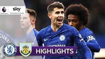 Chelsea siegt souverän | FC Chelsea - FC Burnley 3:0 | Highlights - Premier League 2019/20