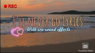 I'll never go by Arthur Miguel | Lyrics
