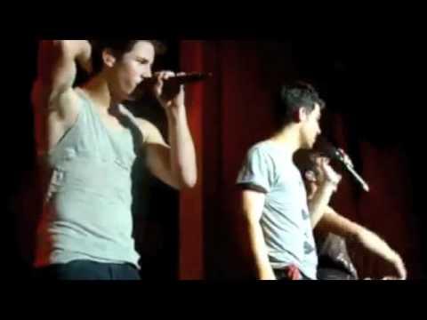 Download Favorite Nick Jonas Burnin Up Moments-Camp Rock Tour