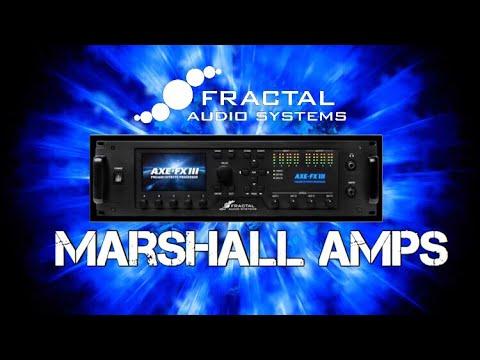 Axe FX III Marshall Models