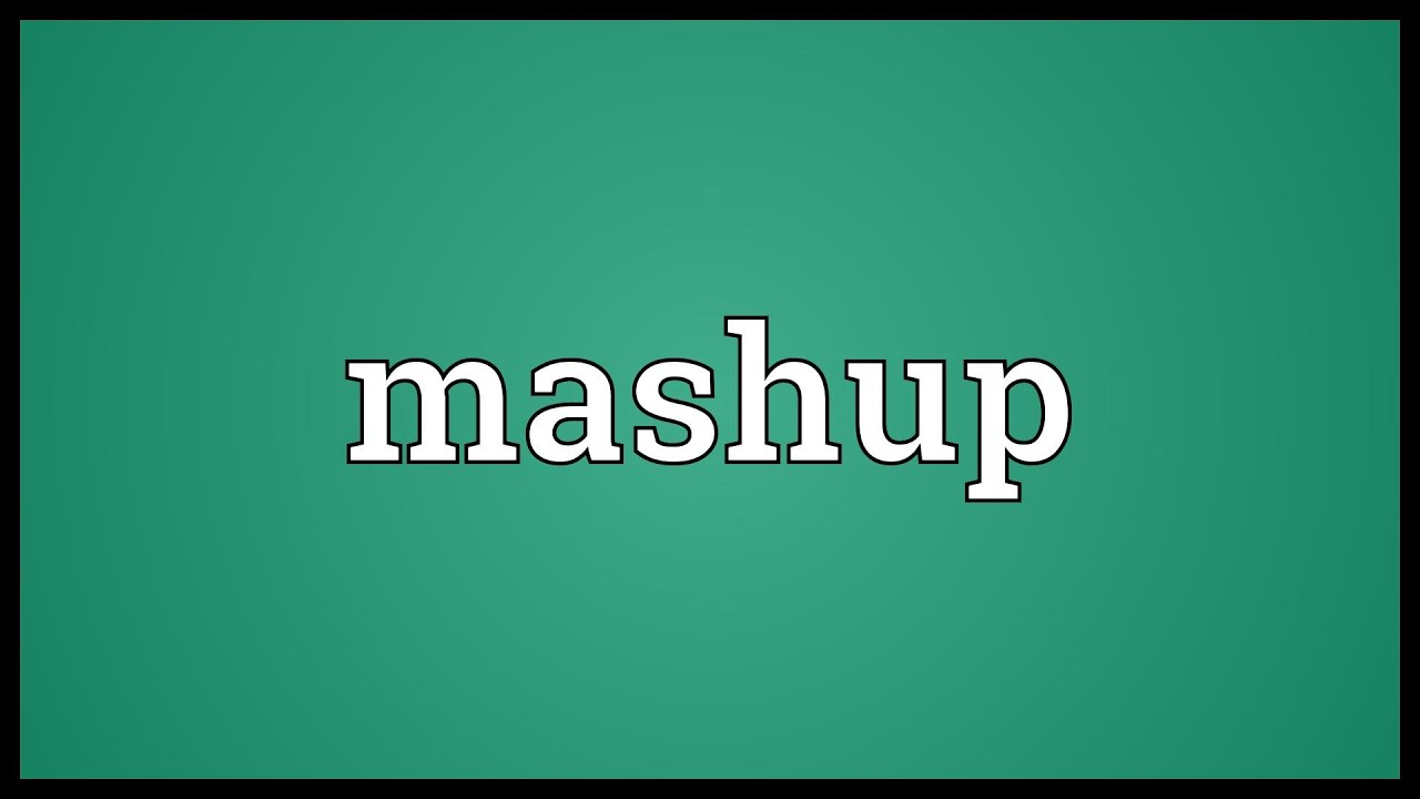 Mashup meaning in hindi