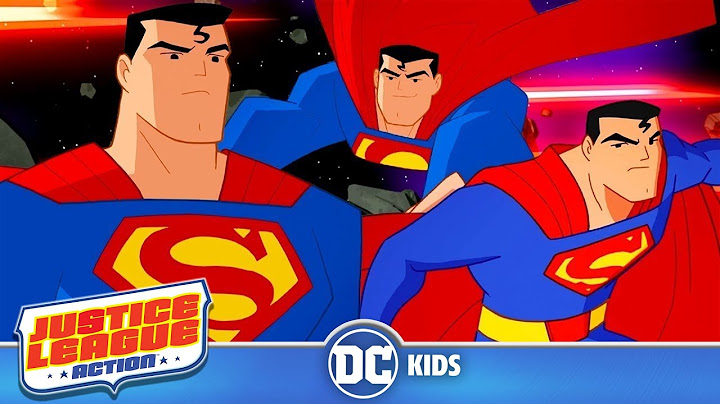 justice league action  superman in action  dc kids