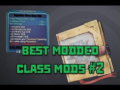 Borderlands 2 modded class mods pc