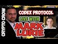 Live with Codex Protocol's Mark Lurie - A decentralized registry for unique assets