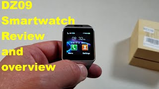 DZ09 smartwatch review and overview.