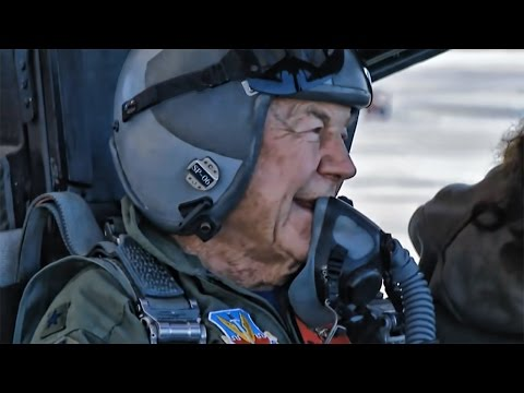EightyNine Year Old Chuck Yeager • F15 Eagle Honor Flight