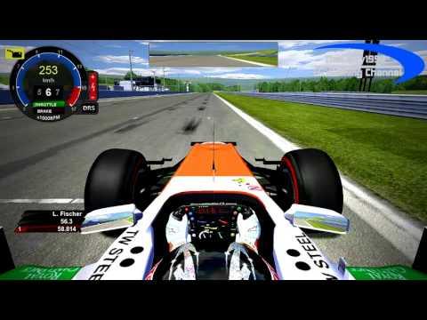 ReDrive - rF1 Test-GP Birmingham
