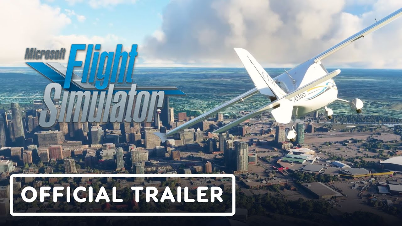 Microsoft Flight Simulator - Official North America Trailer