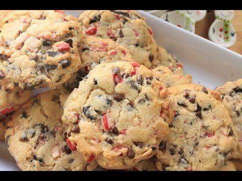 How to make Peppermint Oreo Cookies | SimplyBakings