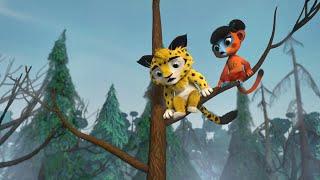 Лео и Тиг сборник серий с 21 по 30 Детям про животных Мультфильм HD