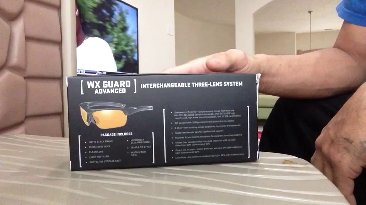 b7819fc503a All New 2016 Wiley X Guard Advance Safety Sunglasses - YouTube