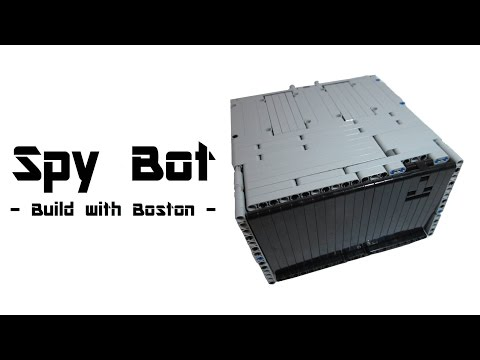 "Lego Mindstorms ""Spy"" Robot 