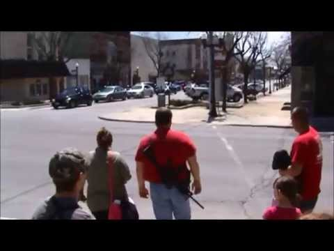 Ohio Carry- NW Chapter Lima Open Carry Walk 4-26-2014