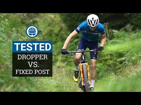 Dropper Post Vs. Fixed Post - Which Is Fastest For XC?