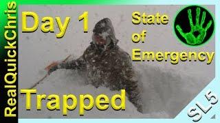 Snow Storm 11-18-14 Buffalo, New York 1st day