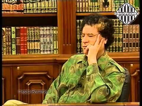 Interview with Col  Muammar Gaddafi to talk about Lockerbie 2000
