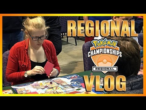 Riley and Natalie Have New Nicknames!? Charlotte Pokemon Regional Championships Vlog