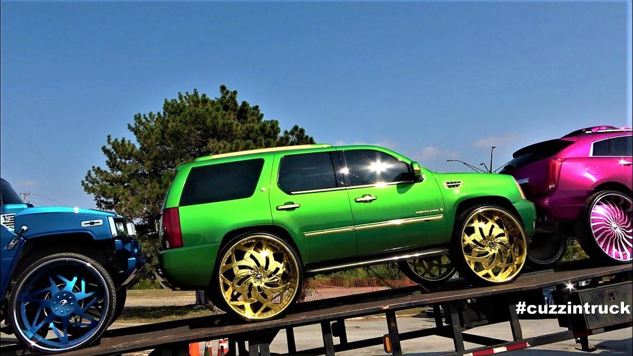 Midwest Fest 4 Car & Bike Show | Big Rims, Donks, Custom Cars, Amazing Cars Part2