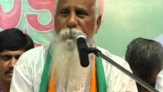 """""""Ahimsa Paramo Dharma - Pyramid Party of India"""" - Patriji, Dharma Mahachakram, Vijayawada"""