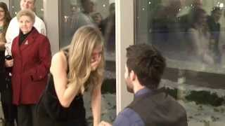 Best Surprise Proposal at Nursing School Graduation (Jason Derulo - Marry Me)