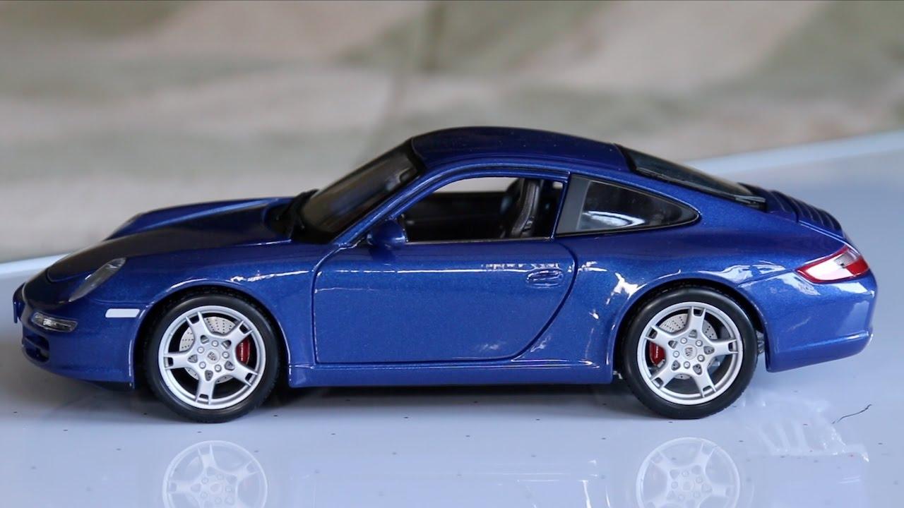 Review - 1:18 Scale Maisto Porsche 911 Carrera S - YouTube