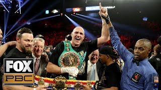 Tyson Fury announced as new Heavyweight champion after defeating Deontay Wilder | PBC ON FOX