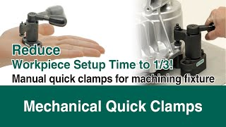 ONE-TOUCH CLAMPS for Better Efficiency and Lower Costs  IMAO Corporation