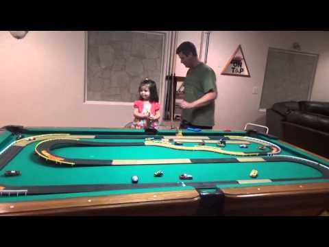 2 Years Old Speed Racer Tyco Slot Car Track Racing Toy Review