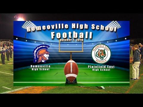 Romeoville High School Varsity Football October 7, 2016