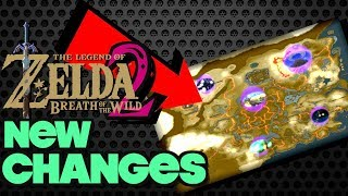 Zelda Breath of the Wild 2: Big Changes Coming?! [New Map, Dungeons, Time Travel]