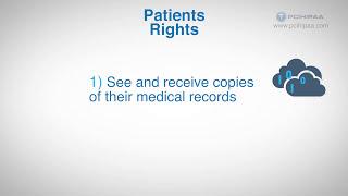 HIPAA Training:  The HIPAA Privacy Rule