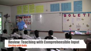 Teaching English with Comprehensible Input - Class 2