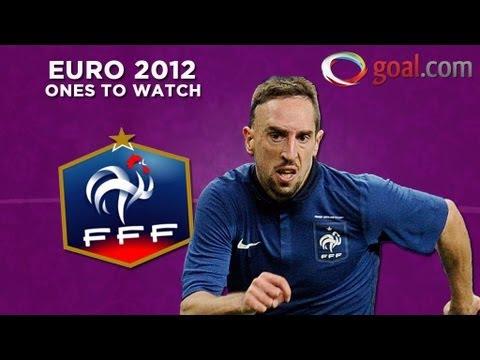 Franck Ribery - France's key player at the Euros