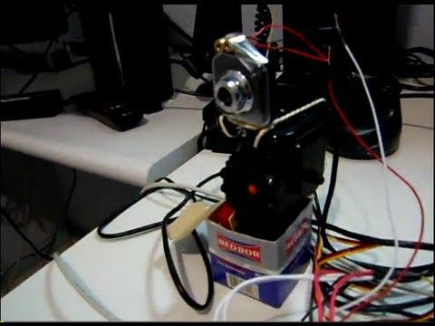 Real Life Portal Sentry Gun / Python + Arduino + Linux