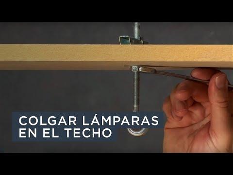 Colgar lámparas y otros objetos en el techo - Index