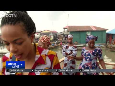 Women take the stage in Nigeria's floating slum