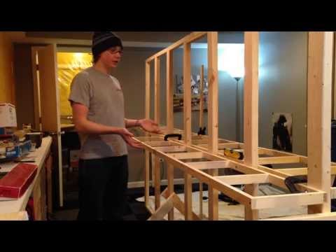 How to Build Model Railroad Benchwork - Open Grid