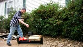 Northern Tool Manual Log Splitter Review And Advice