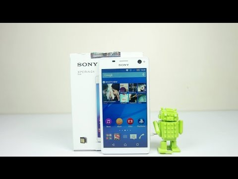 Sony Xperia C4 Dual Unboxing and Hands On (Exclusive) | AllAboutTechnologies