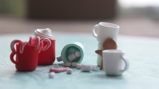 Miniature Mug Tutorial (Holiday Drinks Part 1/2)