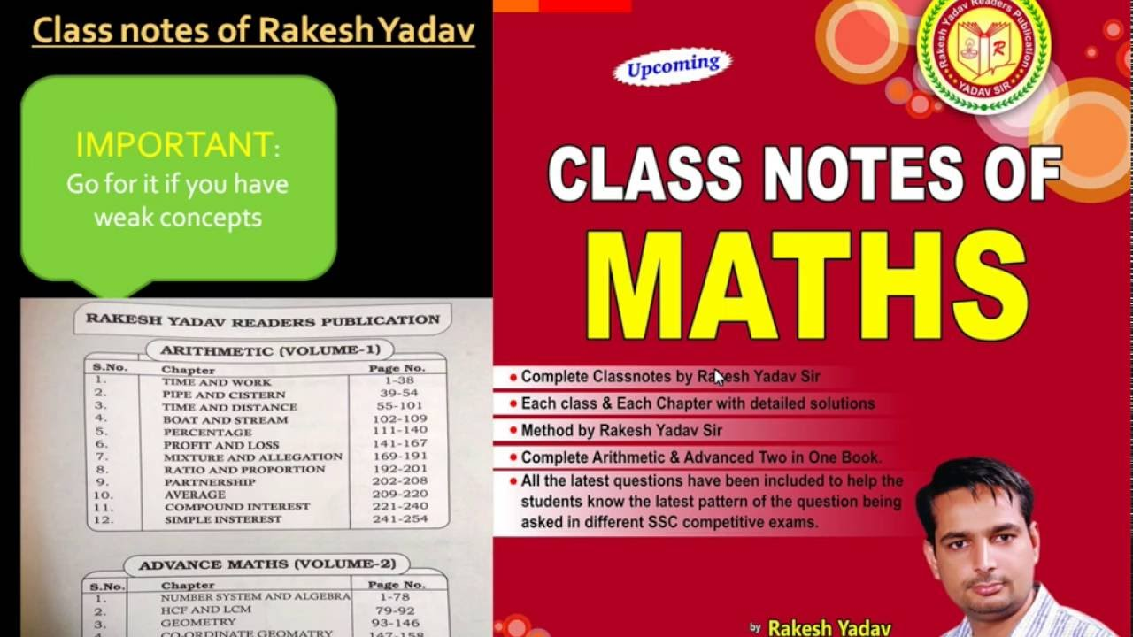 SSC CGL mains books | Must have Tier 2 books | Important Maths and ...