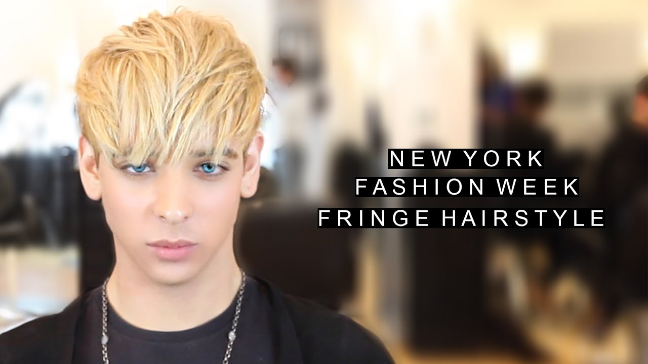 new hair style for new york fashion week hairstyle fringe hairstyle for 4590