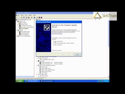 Learning to install the Sound Driver in Windows XP (Hindi) (हिन्दी)