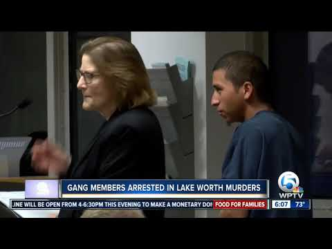 Gang members arrested in Lake Worth killings, sheriff's office says