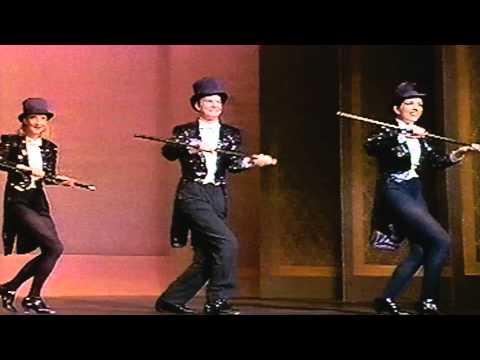 Liza Minnelli and cast perform