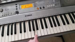 Funny Yamaha Keyboard Sounds