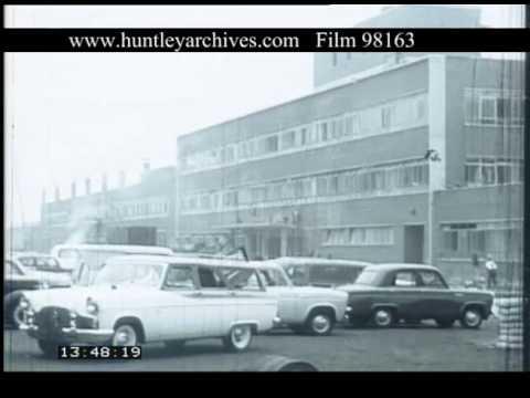 Ford Factory Dagenham 1950s Film 98163 Youtube