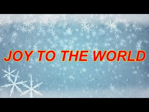 JOY TO THE WORLD - TRACK KARAOKE WITH LYRICS