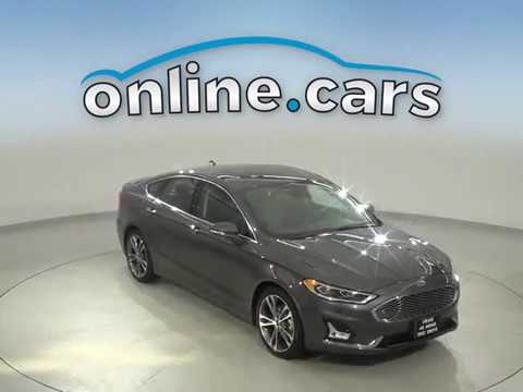 C17782TA Used 2019 Ford Fusion Titanium With Navigation & AWD Test Drive, Review, For Sale